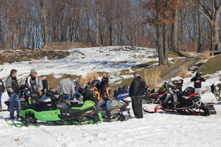 Sno drifters poker rally